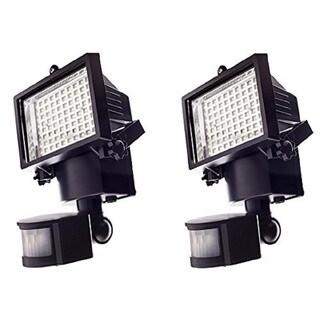 Qualitus 80-LED Solar Panel Floodlight (1- or 2-Pack)
