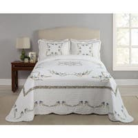 Modern Heirloom Heather Cotton Bedspread