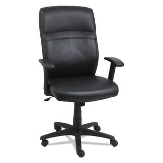 Alera High-Back Swivel/Tilt Chair, Taupe/Black
