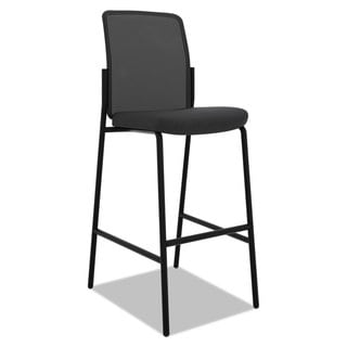basyx VL538 Mesh Back Multi-Purpose Stool, Black, 2/Carton