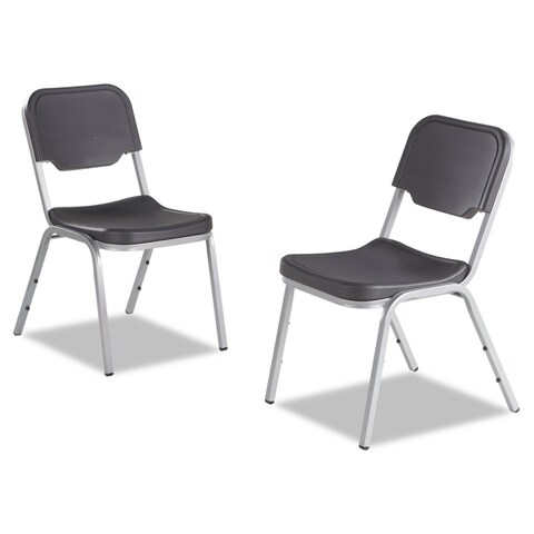 Iceberg Rough N Ready Series Original Stackable Chair, 4/Carton