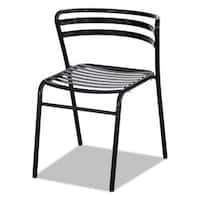 Safco CoGo Steel Outdoor/Indoor Stack Chair, 2/Carton