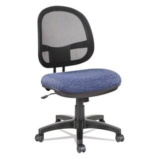 Alera Interval Series Swivel/Tilt Mesh Chair, Black