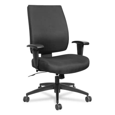 Alera Wrigley Series High Performance Mid-Back Synchro-Tilt Task Chair