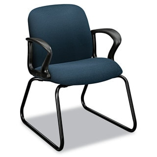 HON Gamut Series Sled Base Cerulean Guest Chair