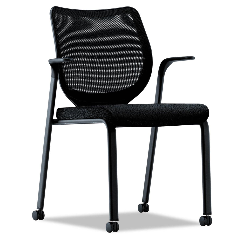 HON Nucleus Series Multipurpose Black Chair, Black ilira-...