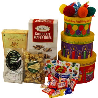 Happy Birthday To You- Snacks and Treats Gift Tower