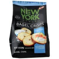 New York Style Bagel Crisps Sea Salt