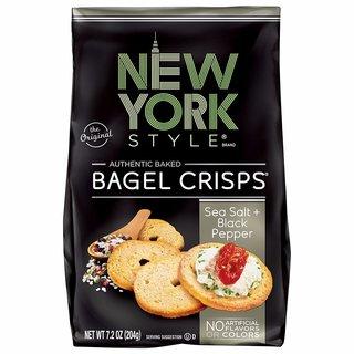 New York Style Bagel Crisps Sea Salt & Black Pepper