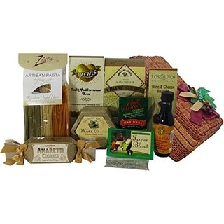 That's Amore Italian Gourmet Pasta Dinner For Two Gift Basket