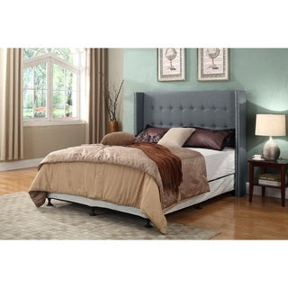 Ellen Nail Trim Upholstered Panel Headboard