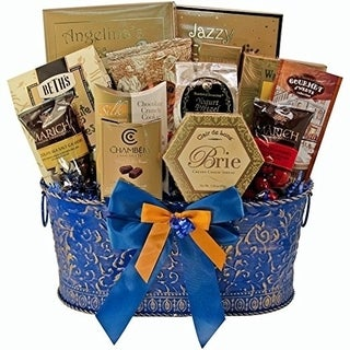 True Blue Gourmet Food Gift Basket (2 options available)