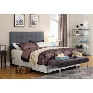US Pride Furniture Nina Foam/Wood Tufted Upholstered Panel Headboard
