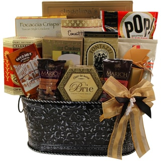 Sweet Memories Gourmet Food Gift Basket, (Candy Option)