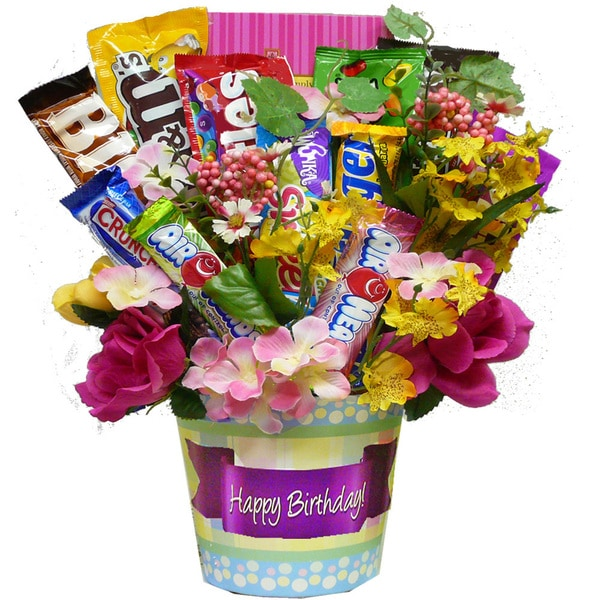 Shop Discontinued~Happy Birthday Candy Bouquet - discontinued- happy ...