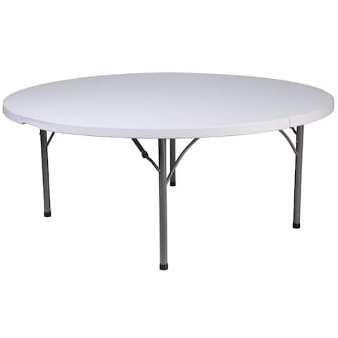 71RND Plastic Fold Table