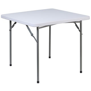 34-inch Square Plastic Folding Table
