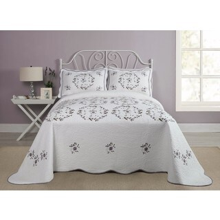 Modern Heirloom Gwen Cotton Bedspread (2 options available)