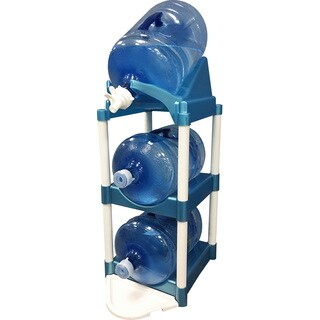 Bottle Buddy Cascada Store and Pour System (Blue)