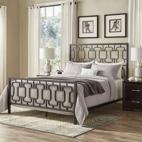 Gilia Geometric Metal Bed by iNSPIRE Q Bold
