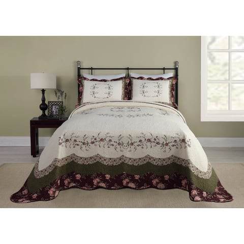 Modern Heirloom Brooke Cotton Bedspread