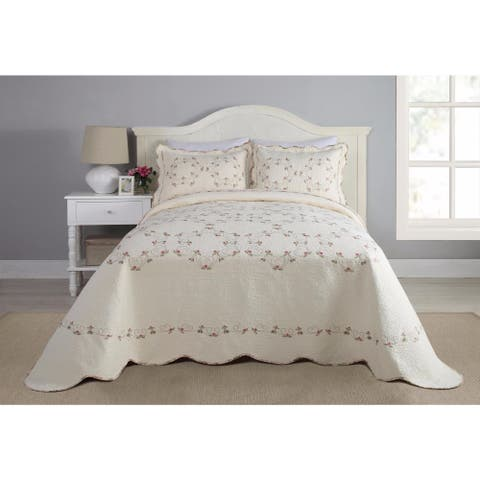 Modern Heirloom Felisa Cotton Bedspread