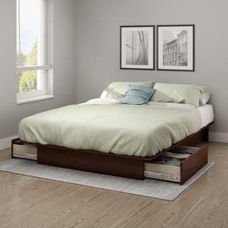 South Shore Step One Full/Queen Platform Bed