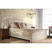 Maison Rouge Tate Sandstone Fabric Bed Set