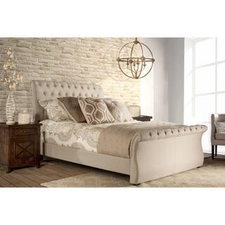 Hillsdale Furniture Hunter Sandstone Fabric Bed Set