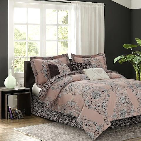 Bardot Blush 7-piece Comforter Set