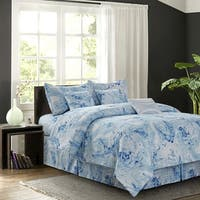 Carrera Blue 7-piece Comforter Set