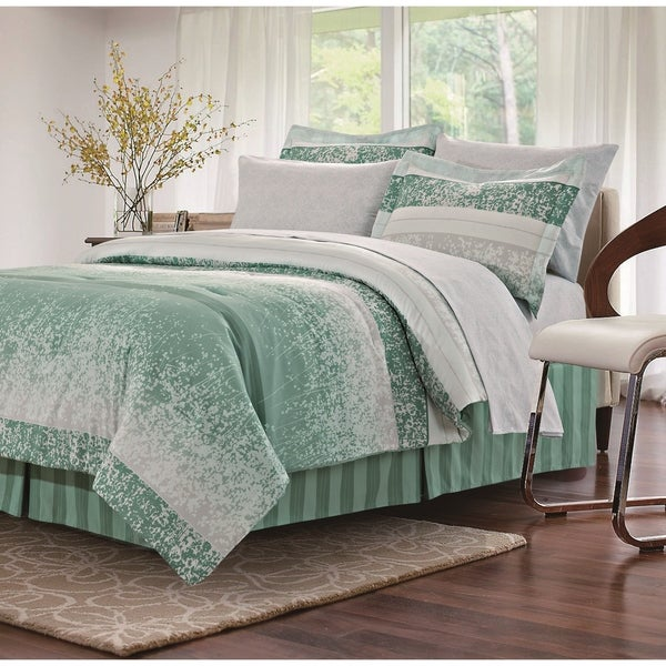 Shop Kallista Sage 8-piece Bed-In-Bag Set - Free Shipping Today ...