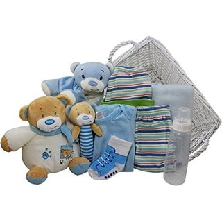 Sweet Baby Special Delivery Gift Basket (Option: Blue)
