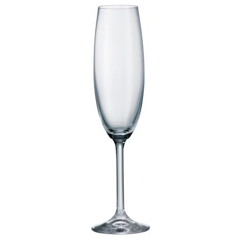 Gastro Fluted Champagne Glass 220ml Set of 6