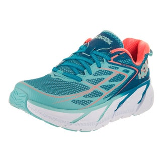 Hoka One One Women's Clifton 3 Blue Textile Running Shoes
