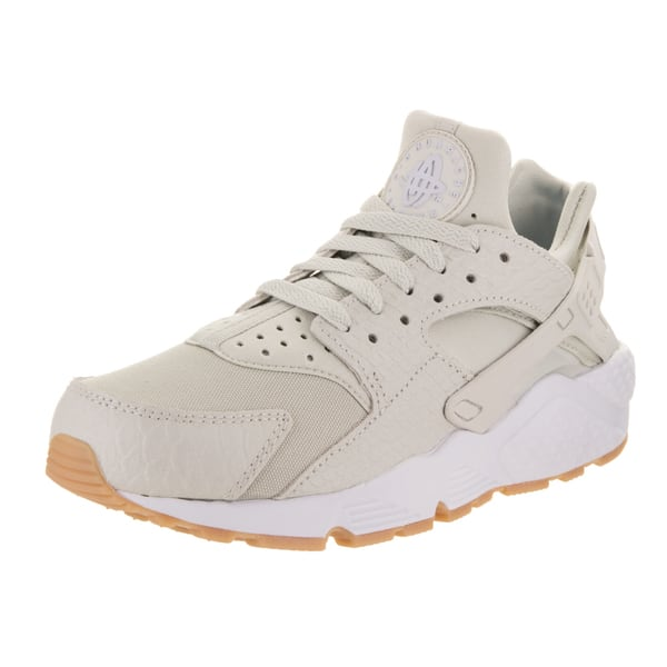 sale retailer a2de1 62d97 Shop Nike Women's Huarache Run SE Light Bone Canvas Running ...