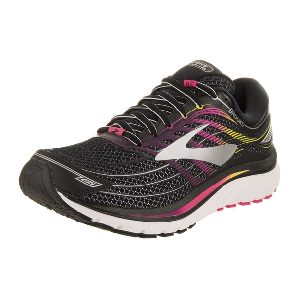 1a47dbb211d73 Brooks Women  x27 s Glycerin 15 Black Pink Peacock Plum Caspia Running