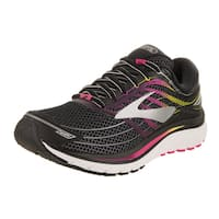 Brooks Women's Glycerin 15 Black/Pink Peacock/Plum Caspia Running Shoe