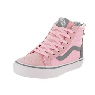 Vans Kids Sk8-Hi Zip (Flower Zip) Skate Shoe