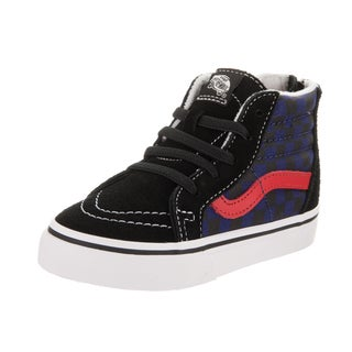 Vans Toddlers Sk8-Hi Zip (Checkerboard) Skate Shoe