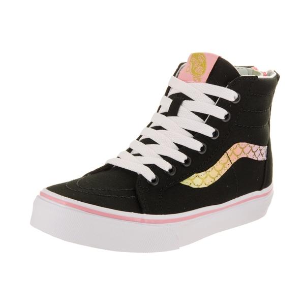 f63b173642dea5 Shop Vans Kids Sk8-Hi Zip (Mermaid) Skate Shoe - Free Shipping Today ...