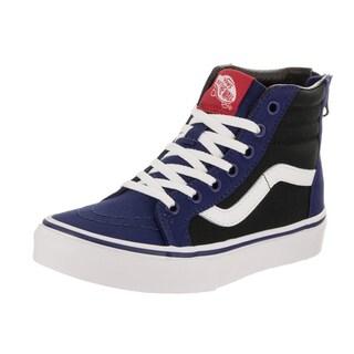 Vans Kids Sk8-Hi Zip (Pop) Skate Shoe
