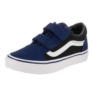 Vans Kids Old Skool V (Pop) Skate Shoe