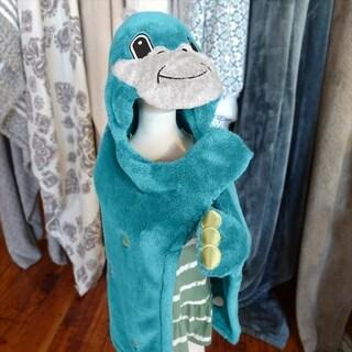 Berkshire Blanket Cuddly Buddies Dino Toddler Throw