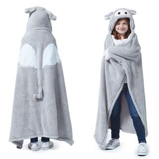 Berkshire Blanket Cuddly Buddies Winged Piglet Throw