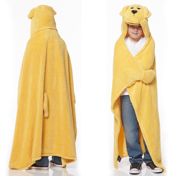 Berkshire Blanket Cuddly Buddies Golden Lab Throw