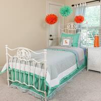 Chevron Foxy Kids 4-piece Comforter Set