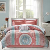 Intelligent Design Eleni Coral Bed in a Bag Set