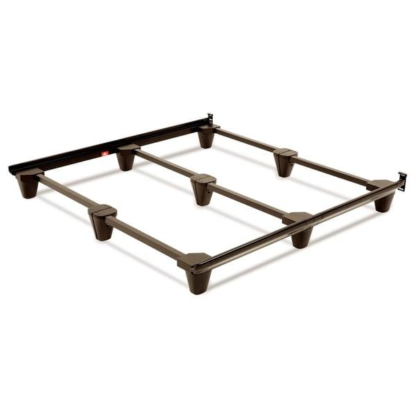 Leggett & Platt Presto Universal Sized Folding Bed Frame in Mahogany