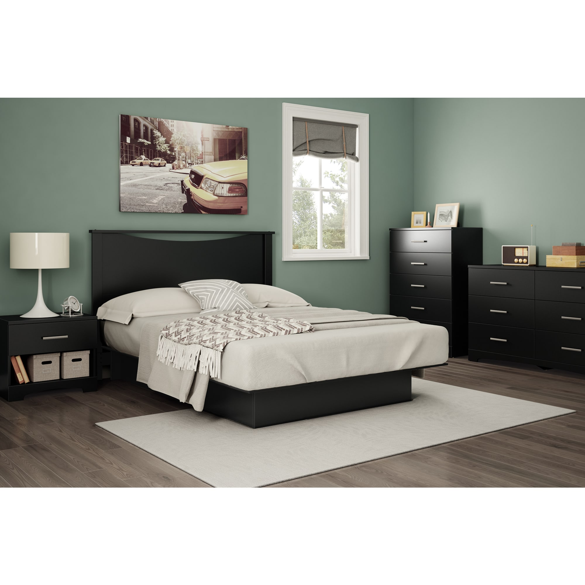 South-Shore-Gramercy-Single-drawer-Nightstand thumbnail 9